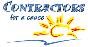Contractors for a cause Logo